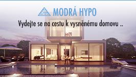 Modrá hypo: váš hypoteční poradce.