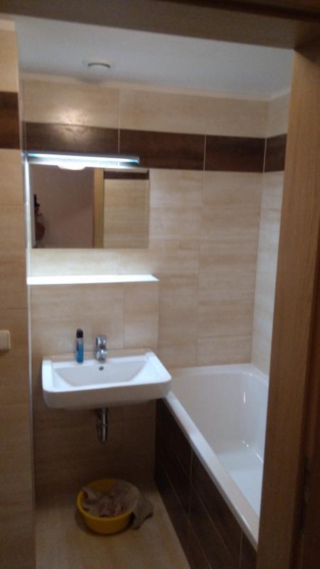 koupelna - Byt k pronajmutí Praha