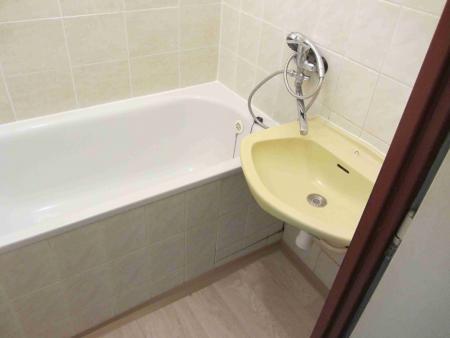 Koupelna - Byt na pronájem Cheb