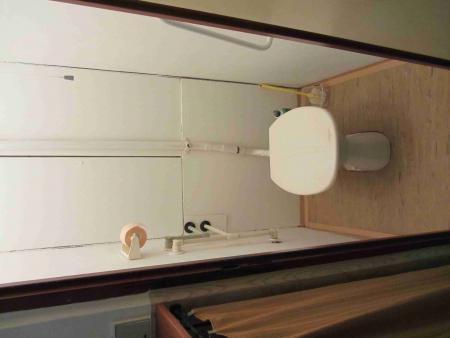 Záchod - Byt na pronájem Cheb