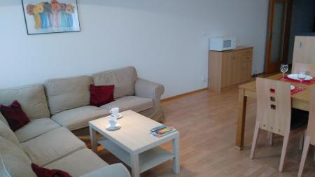 Obývací pokoj - Byt k pronájmu Praha